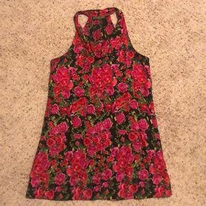 """""""Velvet"""" Floral Dress"""